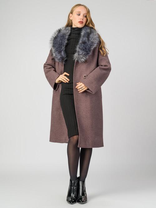 Текстильное пальто артикул 13006812/46 - фото 2