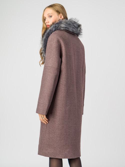 Текстильное пальто артикул 13006812/46 - фото 3