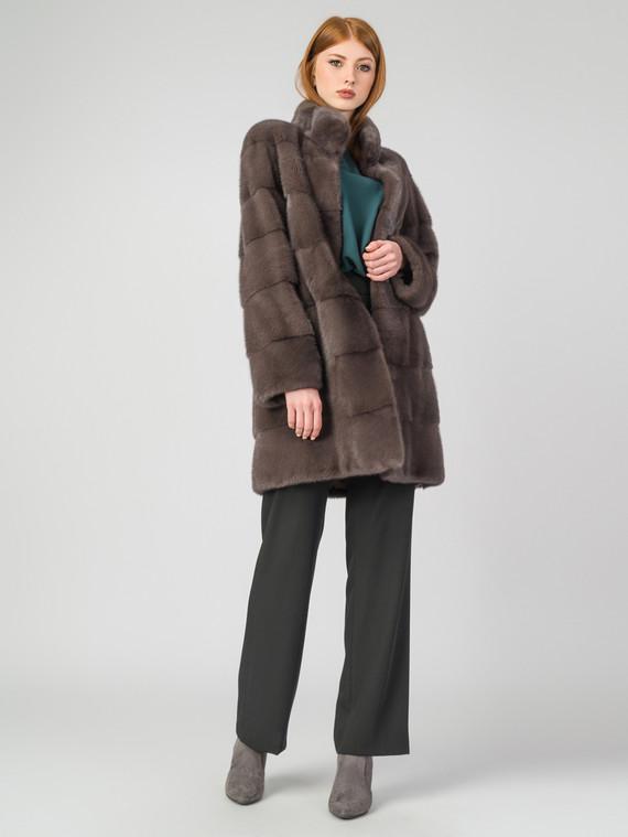 Шуба из норки мех норка, цвет светло-коричневый, арт. 13007020  - цена 119990 руб.  - магазин TOTOGROUP