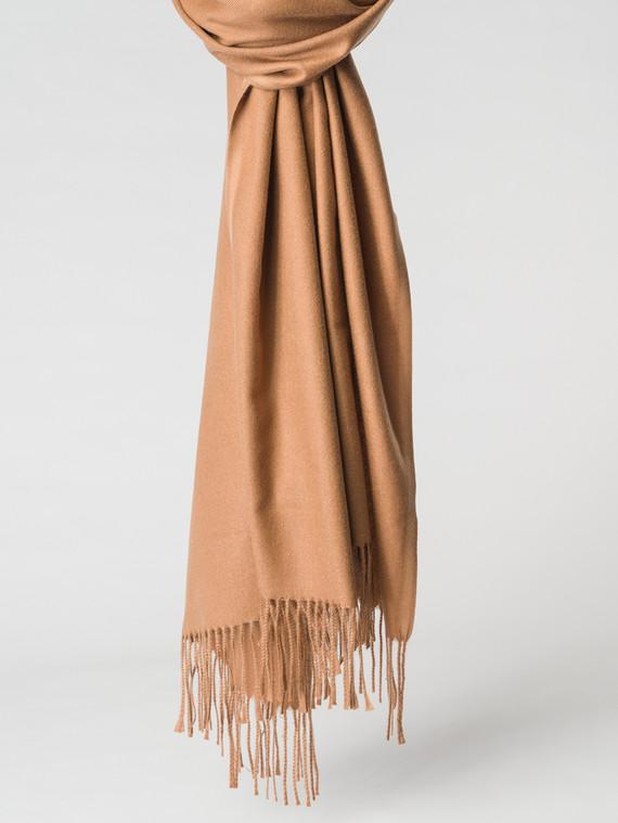 Шарф 100% кашемир, цвет светло-коричневый, арт. 13007145  - цена 1330 руб.  - магазин TOTOGROUP