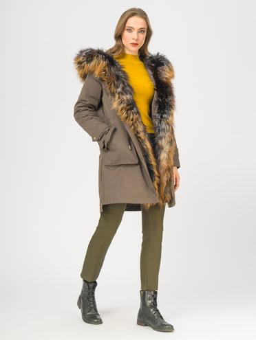Парка 100% полиэстер, цвет светло-коричневый, арт. 13109024  - цена 23990 руб.  - магазин TOTOGROUP
