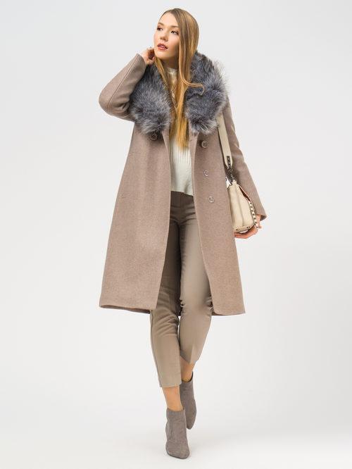 Текстильное пальто артикул 13109097/42 - фото 2