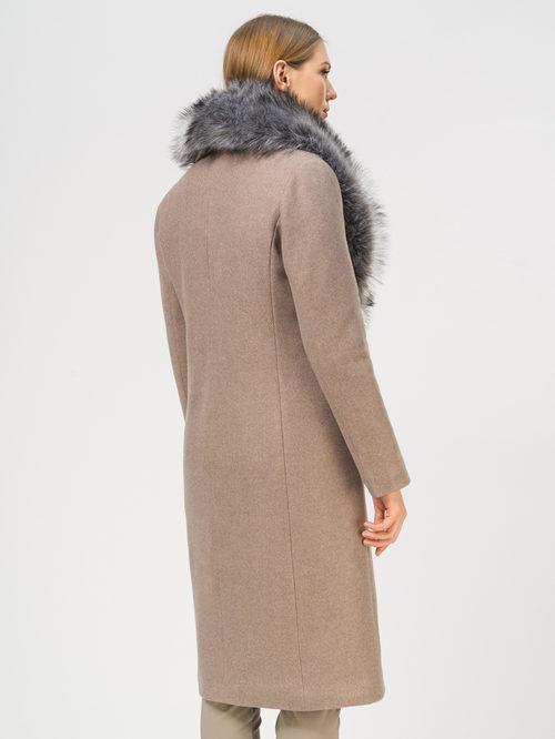 Текстильное пальто артикул 13109097/42 - фото 3
