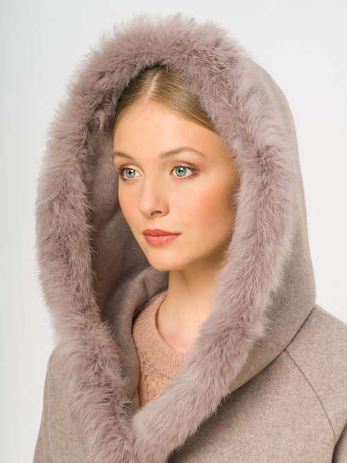 Текстильное пальто артикул 13109128/46 - фото 4
