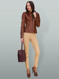 Кожаная куртка кожа овца, цвет светло-коричневый, арт. 13700053  - цена 12690 руб.  - магазин TOTOGROUP