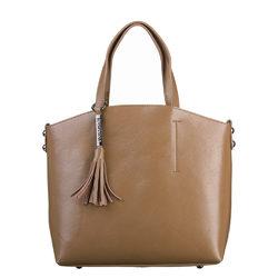 Сумка кожа теленок, цвет светло-коричневый, арт. 13700536  - цена 4990 руб.  - магазин TOTOGROUP
