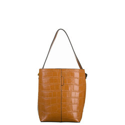 Сумка кожа, цвет светло-коричневый, арт. 13700538  - цена 5290 руб.  - магазин TOTOGROUP