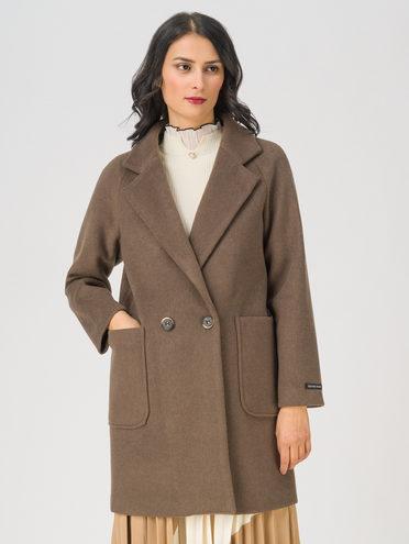 Текстильная куртка 35% шерсть, 65% полиэстер, цвет светло-коричневый, арт. 13711401  - цена 5590 руб.  - магазин TOTOGROUP