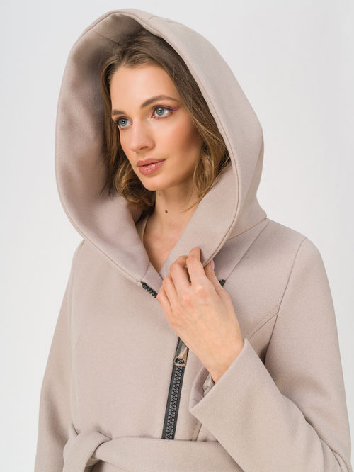 Текстильное пальто артикул 13711412/42 - фото 3