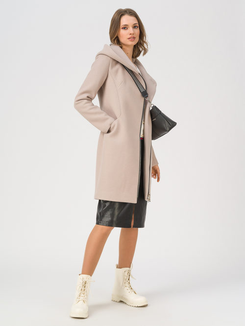 Текстильное пальто артикул 13711412/42