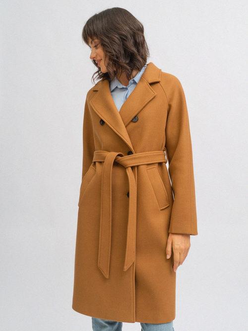 Текстильное пальто артикул 13719893/42 - фото 2