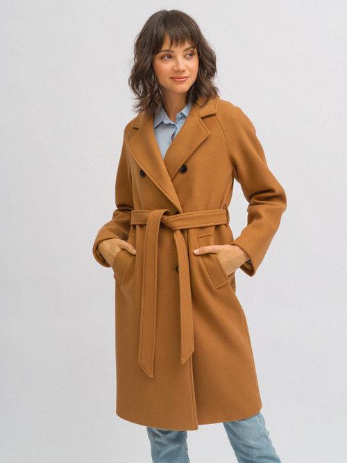 Текстильное пальто артикул 13719893/42 - фото 3