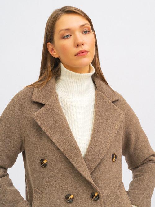 Текстильное пальто артикул 13719952/42 - фото 2