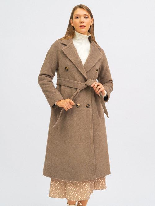 Текстильное пальто артикул 13719952/42 - фото 3
