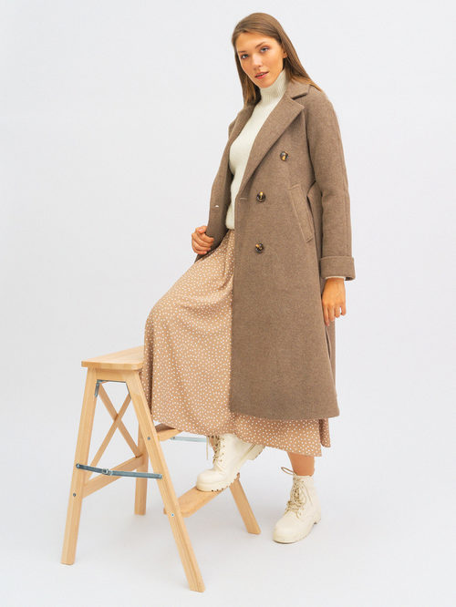 Текстильное пальто артикул 13719952/42 - фото 5