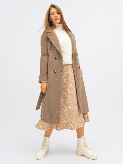 Текстильное пальто артикул 13719952/42