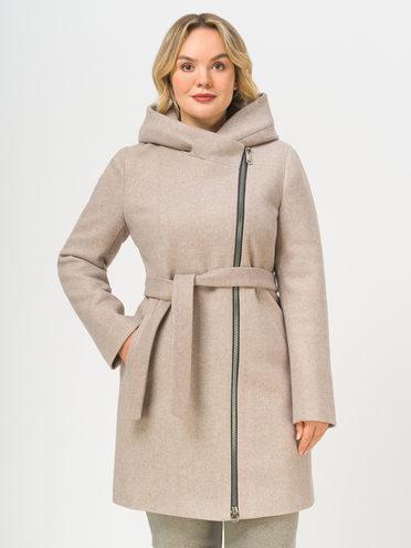 Текстильное пальто , цвет светло-коричневый, арт. 13809290  - цена 8490 руб.  - магазин TOTOGROUP