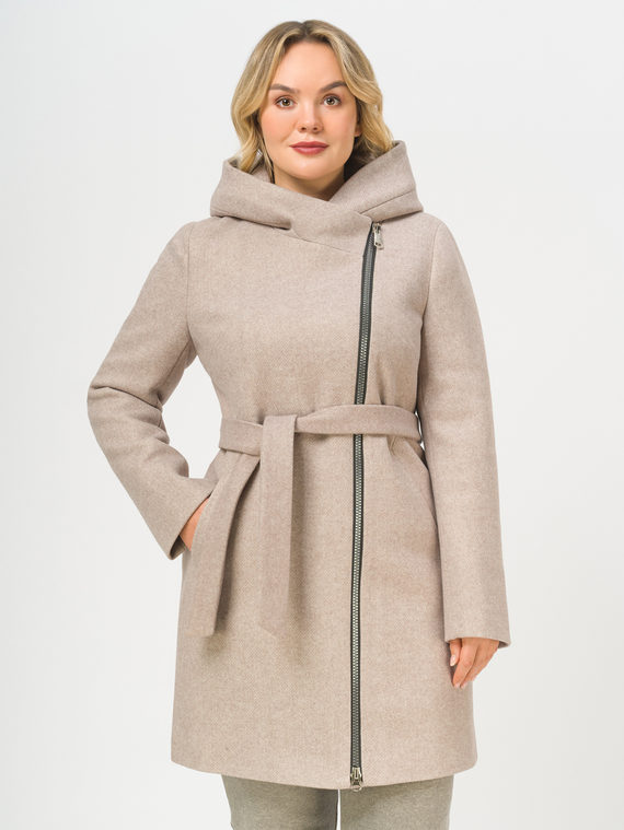 Текстильное пальто , цвет светло-коричневый, арт. 13809290  - цена 8990 руб.  - магазин TOTOGROUP