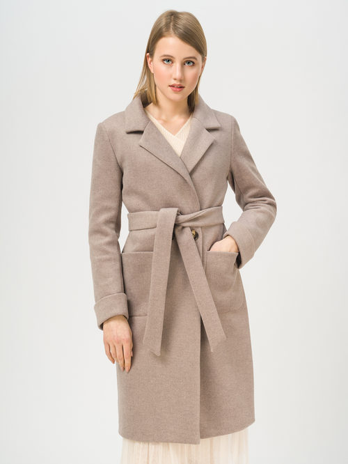 Текстильное пальто артикул 13809968/42 - фото 2