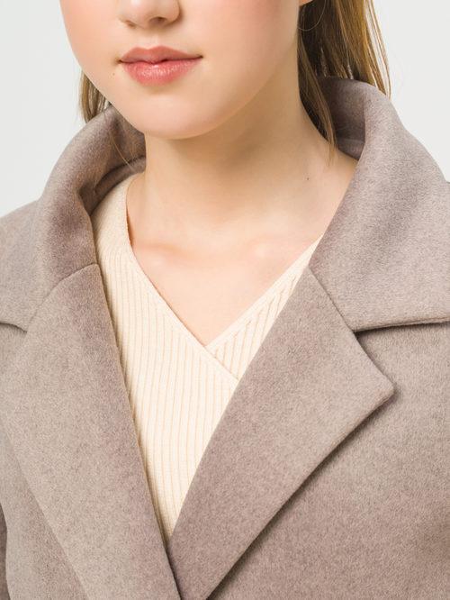 Текстильное пальто артикул 13809968/42 - фото 4