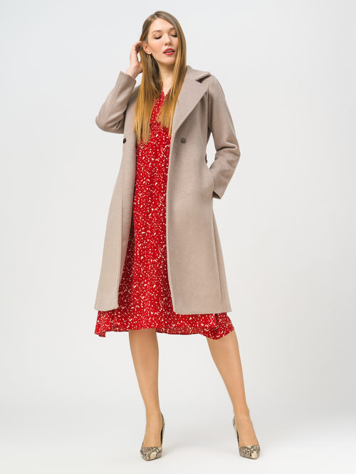 Текстильное пальто артикул 13809969/42 - фото 2