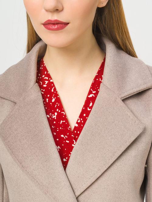 Текстильное пальто артикул 13809969/42 - фото 4