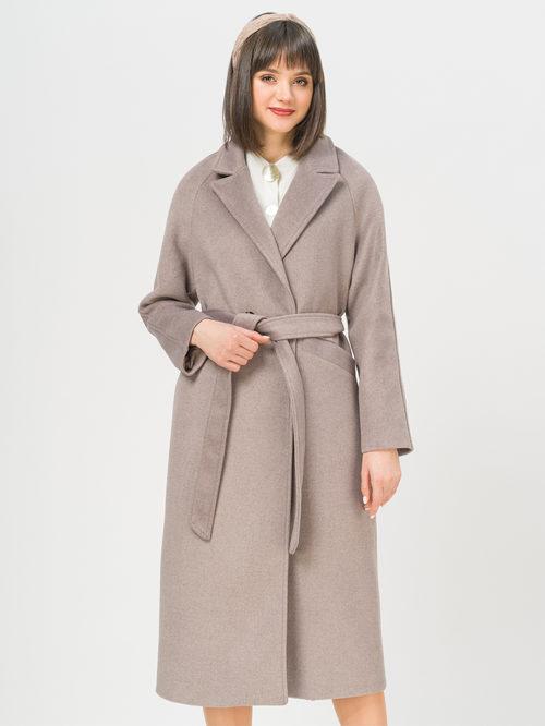 Текстильное пальто артикул 13809970/44 - фото 2