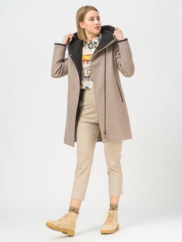 Текстильная куртка 35% шерсть, 65% полиэстер, цвет светло-коричневый, арт. 13809974  - цена 4990 руб.  - магазин TOTOGROUP