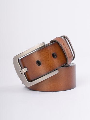 Ремень кожа теленок, цвет светло-коричневый, арт. 13810273  - цена 890 руб.  - магазин TOTOGROUP