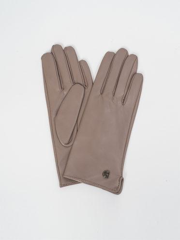 Перчатки кожа, цвет светло-коричневый, арт. 13810310  - цена 1490 руб.  - магазин TOTOGROUP