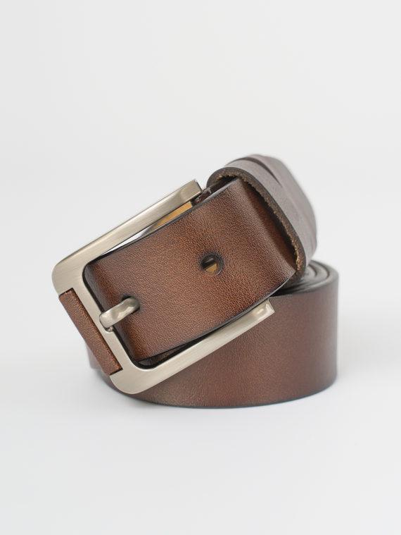 Ремень кожа теленок, цвет светло-коричневый, арт. 13810375  - цена 840 руб.  - магазин TOTOGROUP
