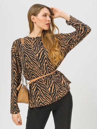 Блуза , цвет светло-коричневый, арт. 13810402  - цена 1330 руб.  - магазин TOTOGROUP