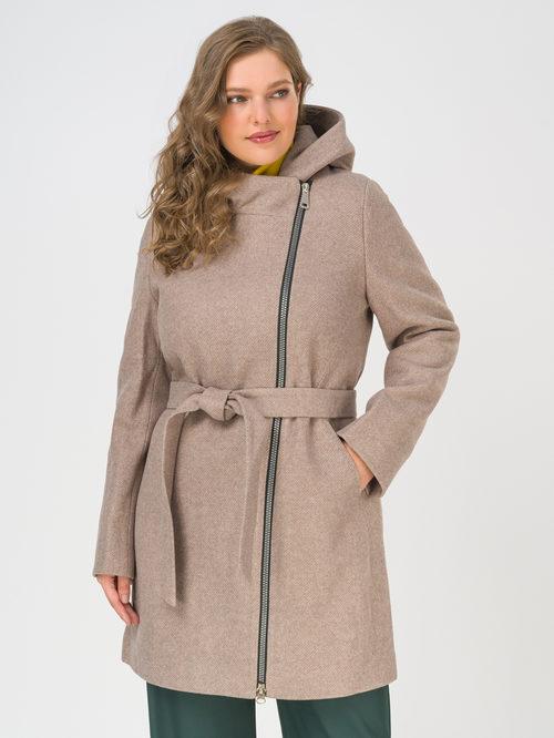 Текстильное пальто артикул 13810655/50 - фото 2