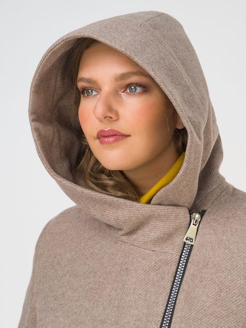 Текстильное пальто артикул 13810655/50 - фото 3
