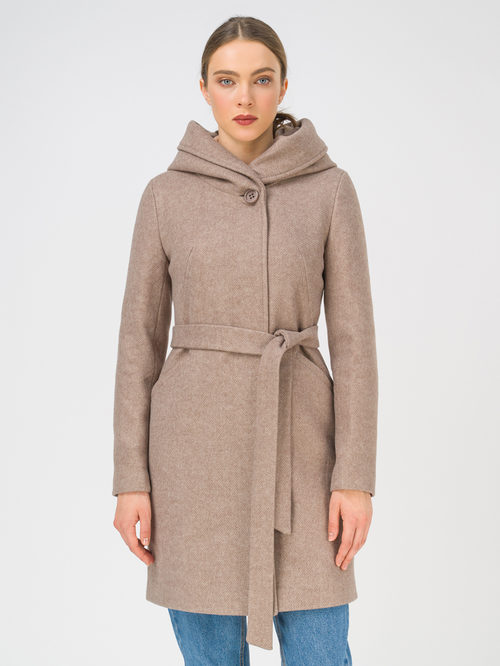 Текстильное пальто артикул 13810656/42 - фото 2
