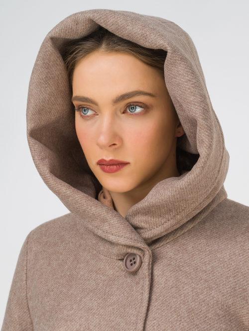 Текстильное пальто артикул 13810656/42 - фото 3