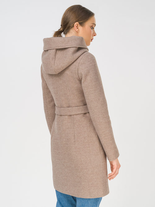 Текстильное пальто артикул 13810656/42 - фото 4