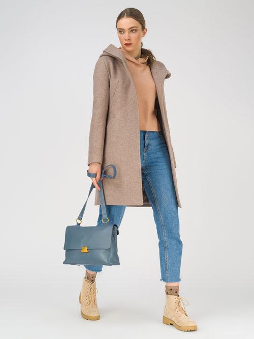 Текстильное пальто артикул 13810656/42
