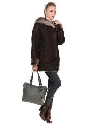 Дубленка дуб. овчина, цвет светло-коричневый, арт. 13900903  - цена 26990 руб.  - магазин TOTOGROUP