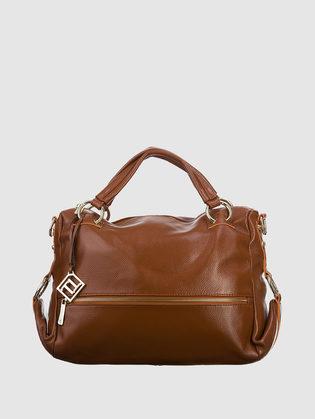 Сумка кожа флоттер, цвет светло-коричневый, арт. 13903329  - цена 6990 руб.  - магазин TOTOGROUP