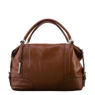 Сумка кожа флоттер, цвет светло-коричневый, арт. 13903331  - цена 6990 руб.  - магазин TOTOGROUP