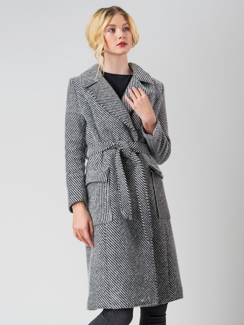 Текстильное пальто артикул 14005558/44 - фото 2
