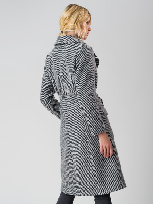 Текстильное пальто артикул 14005558/44 - фото 3