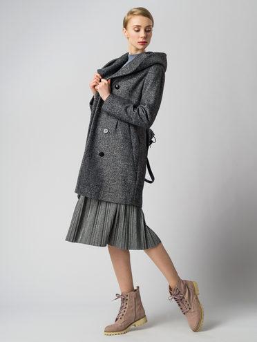Текстильное пальто 30%шерсть, 70% п.э, цвет серый, арт. 14005651  - цена 4740 руб.  - магазин TOTOGROUP