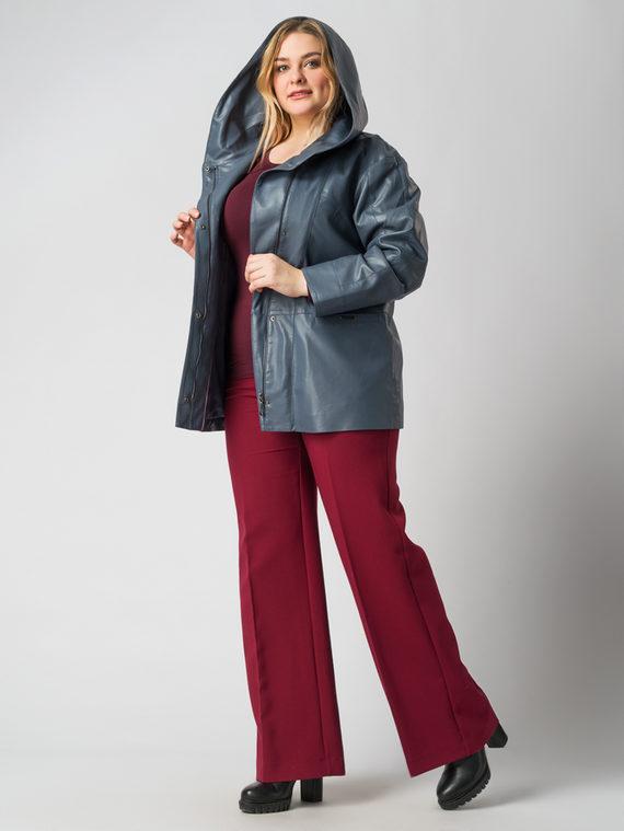 Кожаная куртка эко кожа 100% П/А, цвет голубой, арт. 14005775  - цена 7990 руб.  - магазин TOTOGROUP