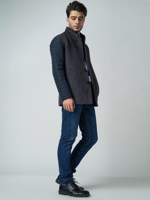 Текстильная куртка 51% п/э,49%шерсть, цвет серый, арт. 14005950  - цена 6990 руб.  - магазин TOTOGROUP