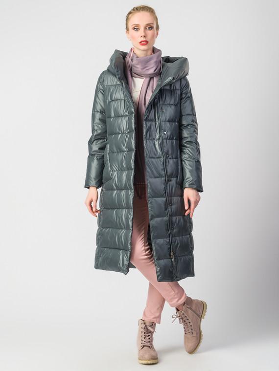 Пуховик текстиль, цвет серый металлик, арт. 14006213  - цена 8990 руб.  - магазин TOTOGROUP