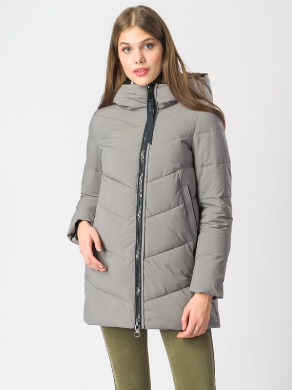 Пуховик текстиль, цвет светло-серый, арт. 14006258  - цена 5590 руб.  - магазин TOTOGROUP