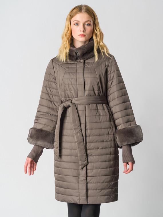 Пуховик текстиль, цвет коричневый, арт. 14006346  - цена 26990 руб.  - магазин TOTOGROUP