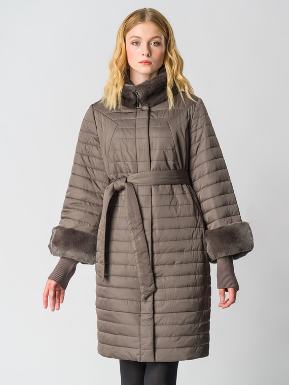 Пуховик текстиль, цвет коричневый, арт. 14006346  - цена 16990 руб.  - магазин TOTOGROUP